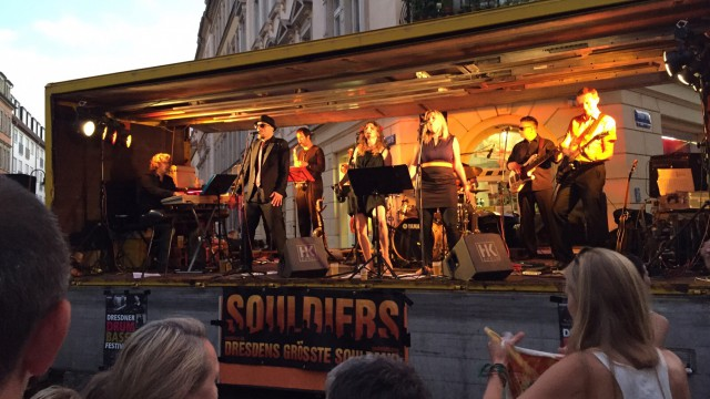 The Souldiers 2015 at Hechtfest with HSP
