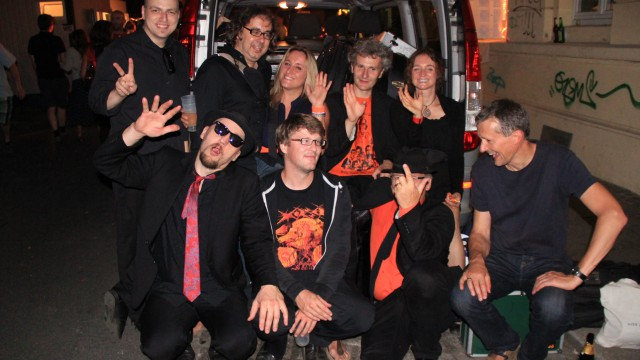 The Souldiers at Hecht 2015 with MHKHMRWUSH
