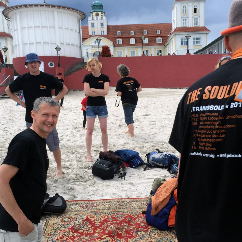 Strandsoul 2016 at Binz with MRSHFK