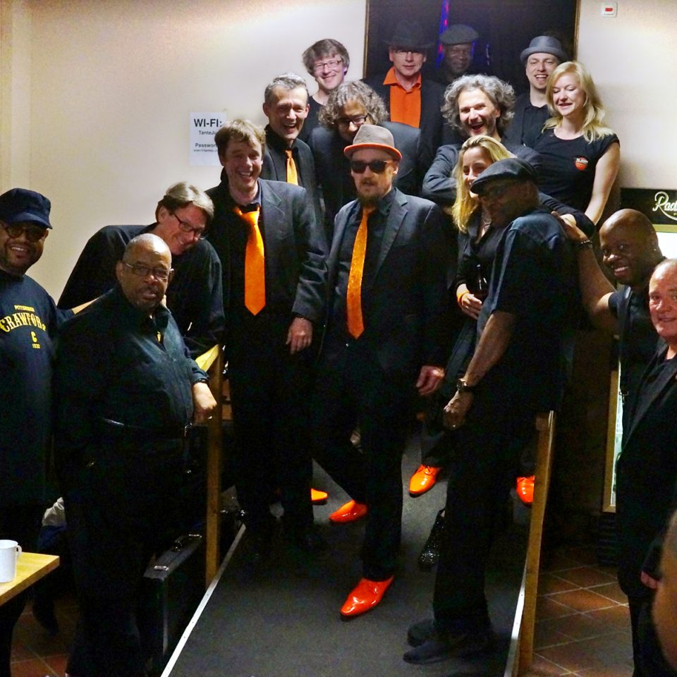 The Souldiers 2017 at Tante Ju with Fred Wesley and The New JBs