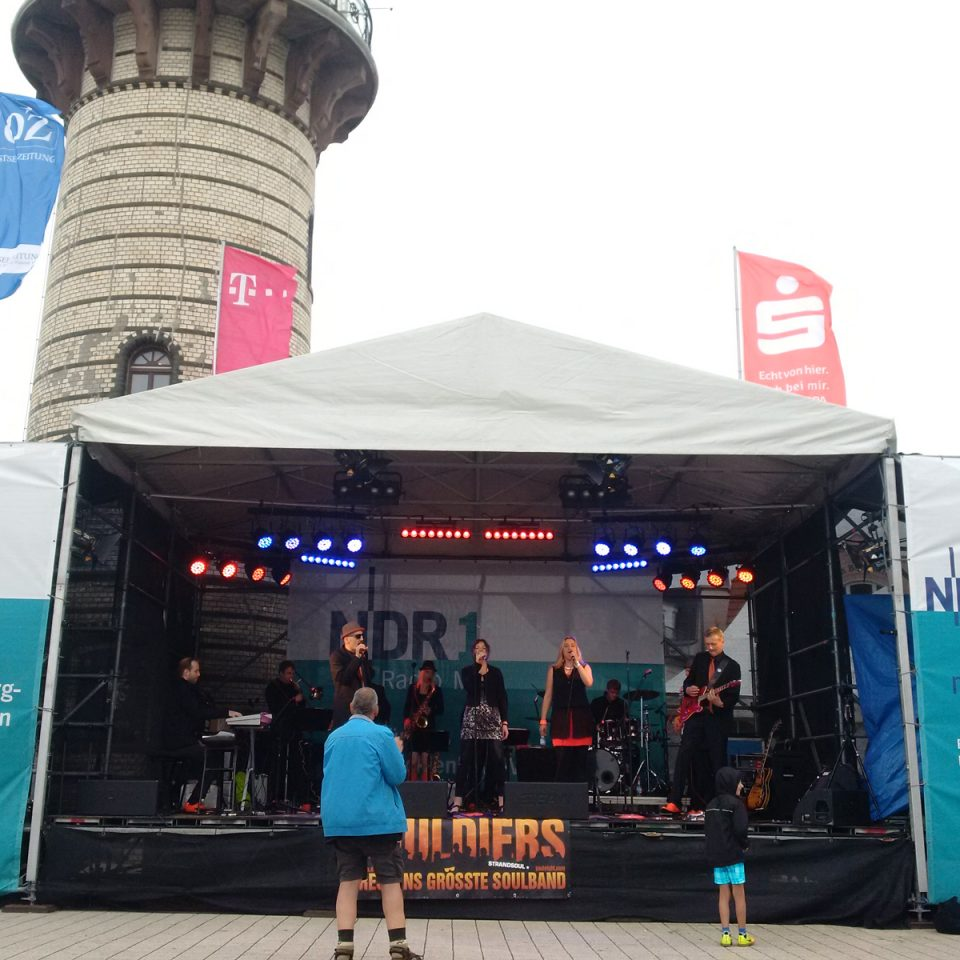 The Souldiers 2017 at Warnemuende NDR1
