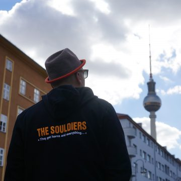 Traveling Soulburys at Berlin with RM