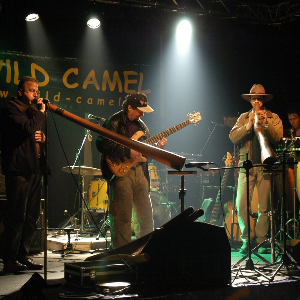 The Souldiers 2004 at Tante Ju_with Wild Camel_Photo by Bianca Swoboda