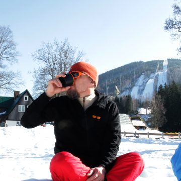 Traveling Soulburys at Harrachov with MK