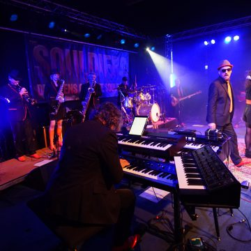 The Souldiers 2019 at Tante Ju with MKOG_Photo by Gerhard Csejka