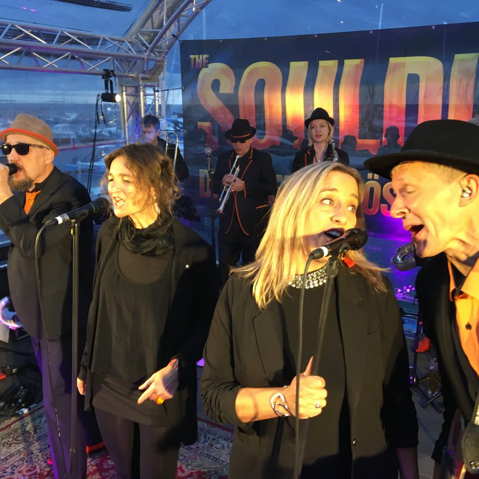 The Souldiers at Strandsoul 2019 in Kühlingsborn with KHSH