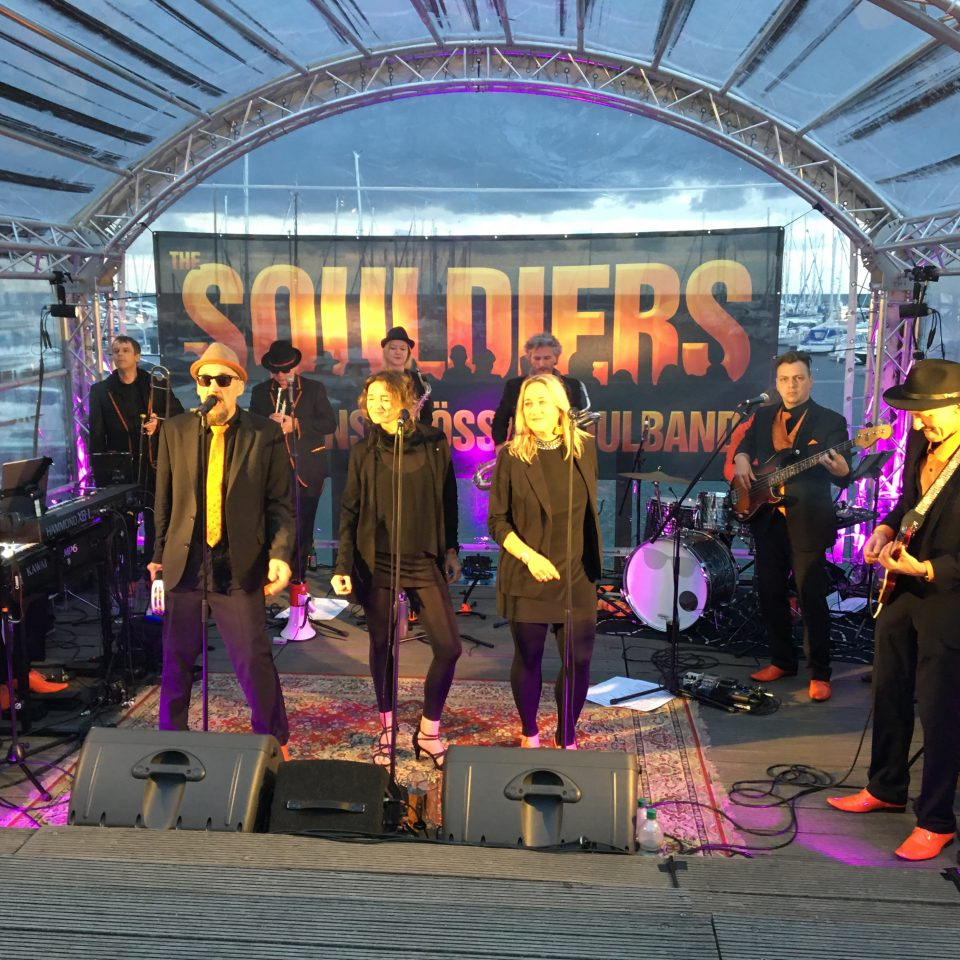 The Souldiers at Strandsoul 2019 in Kühlungborn with KHMKRR