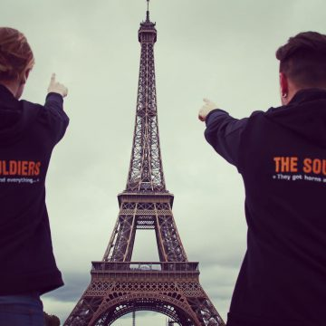 Traveling Soulburys at Paris with MHFK